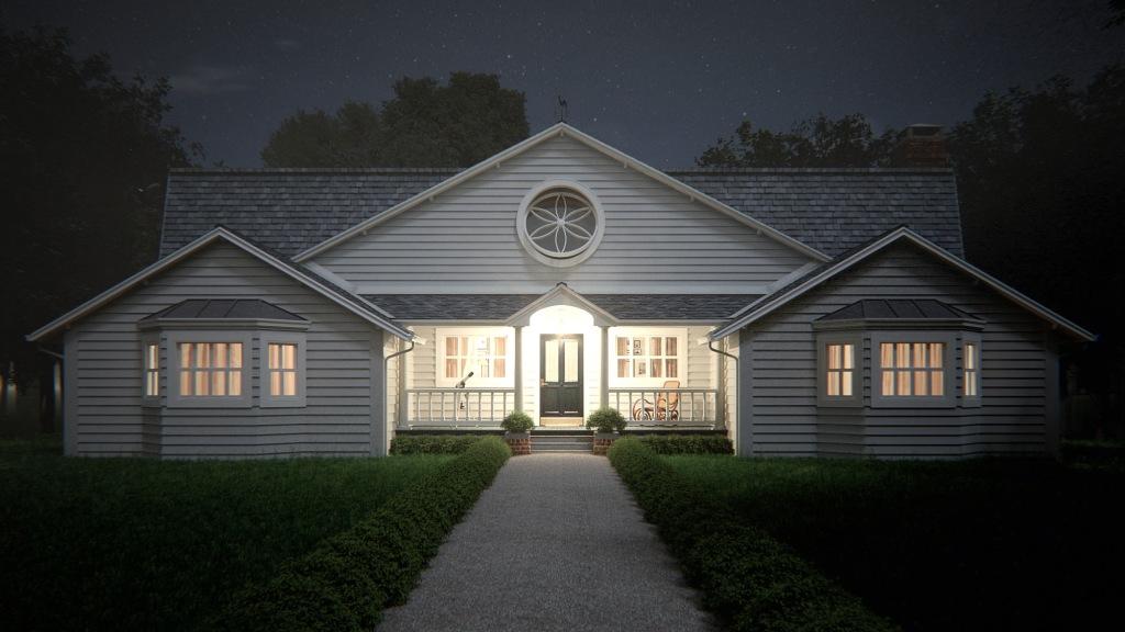 Casa Americana (noite)