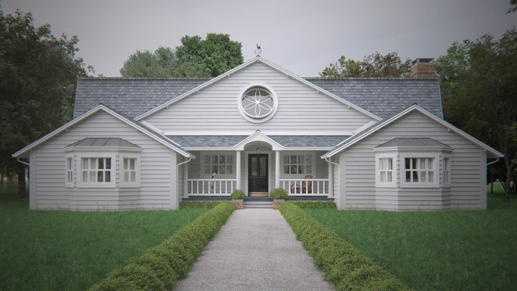 Casa Americana (overcast)